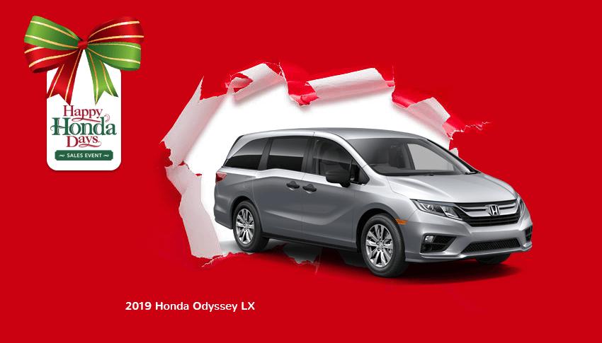 Happy Honda Days 2019 Odyssey