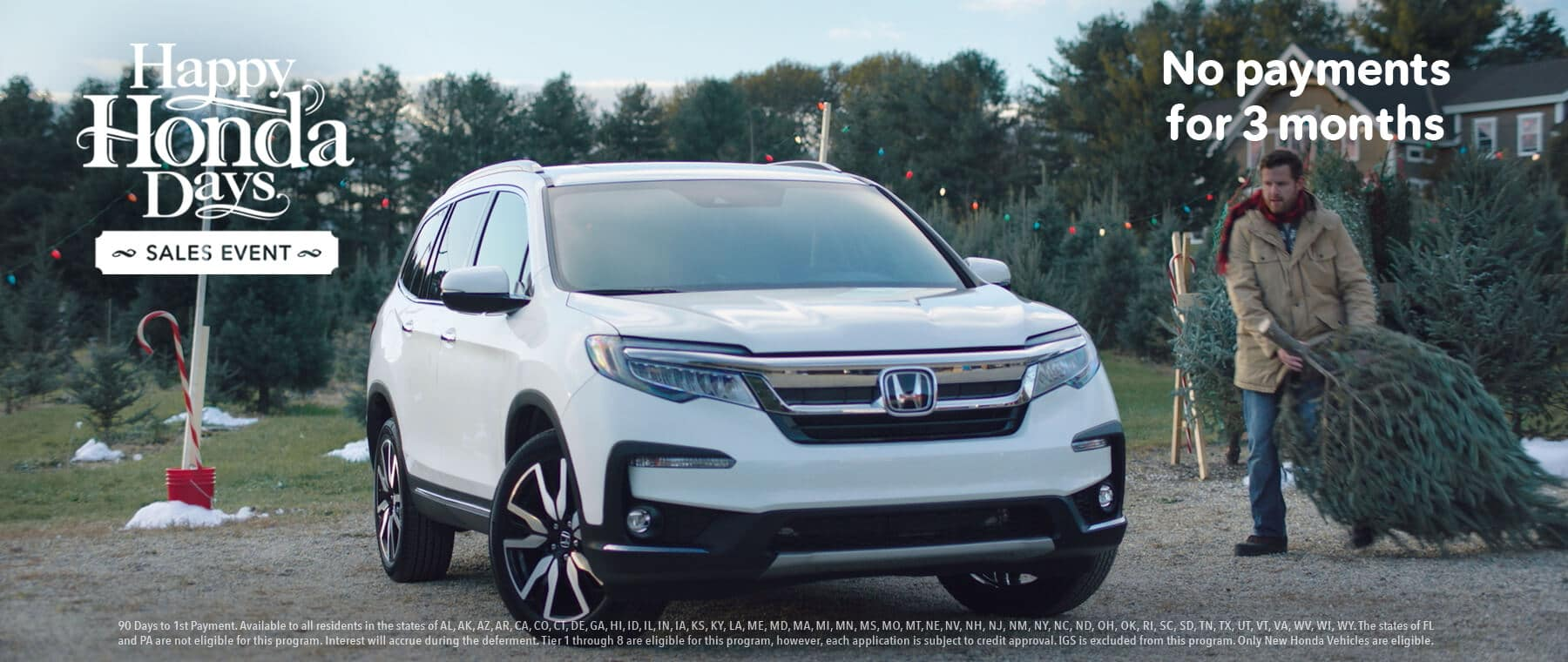 New England Honda Dealers Happy Honda Days CR-V Banner