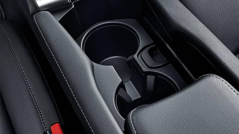2019 Honda Civic Hatchback Cup Holders and Center Console