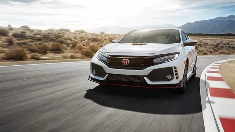 2019 Honda Civic Type R Driving