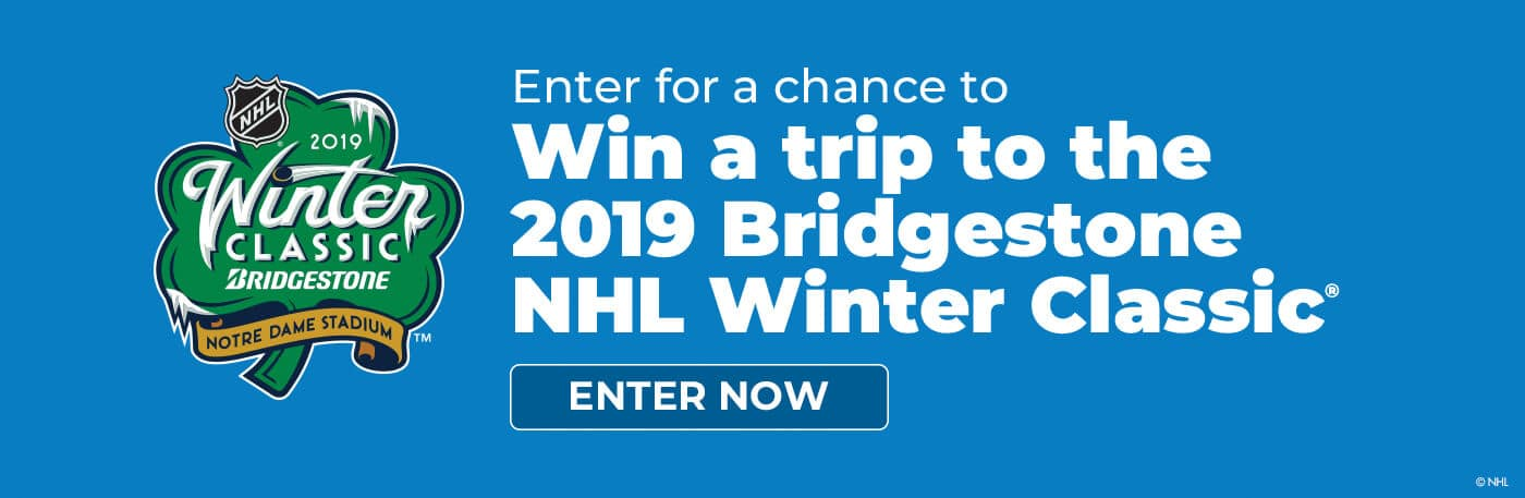 2019 Bridgestone NHL Winter Classic Banner