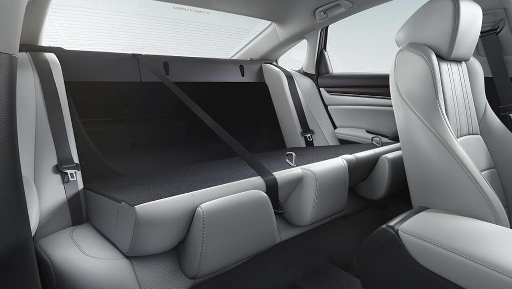 2019 Honda Accord Folded Seats
