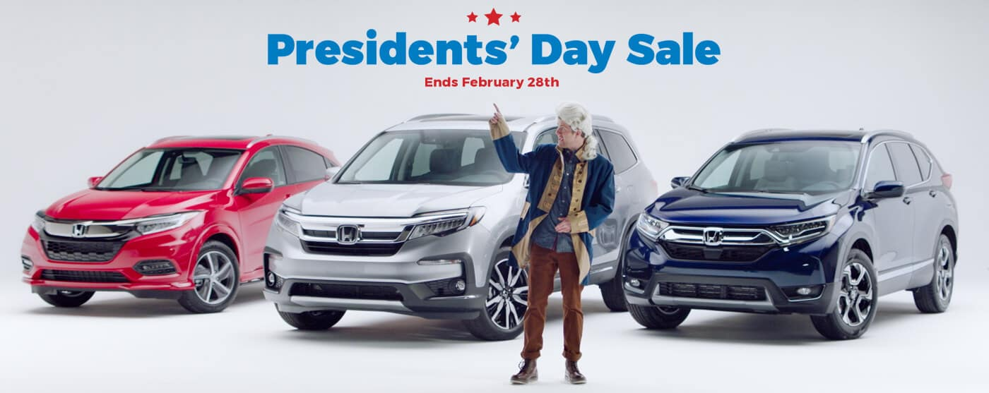 New England Honda Presidents' Day Sale
