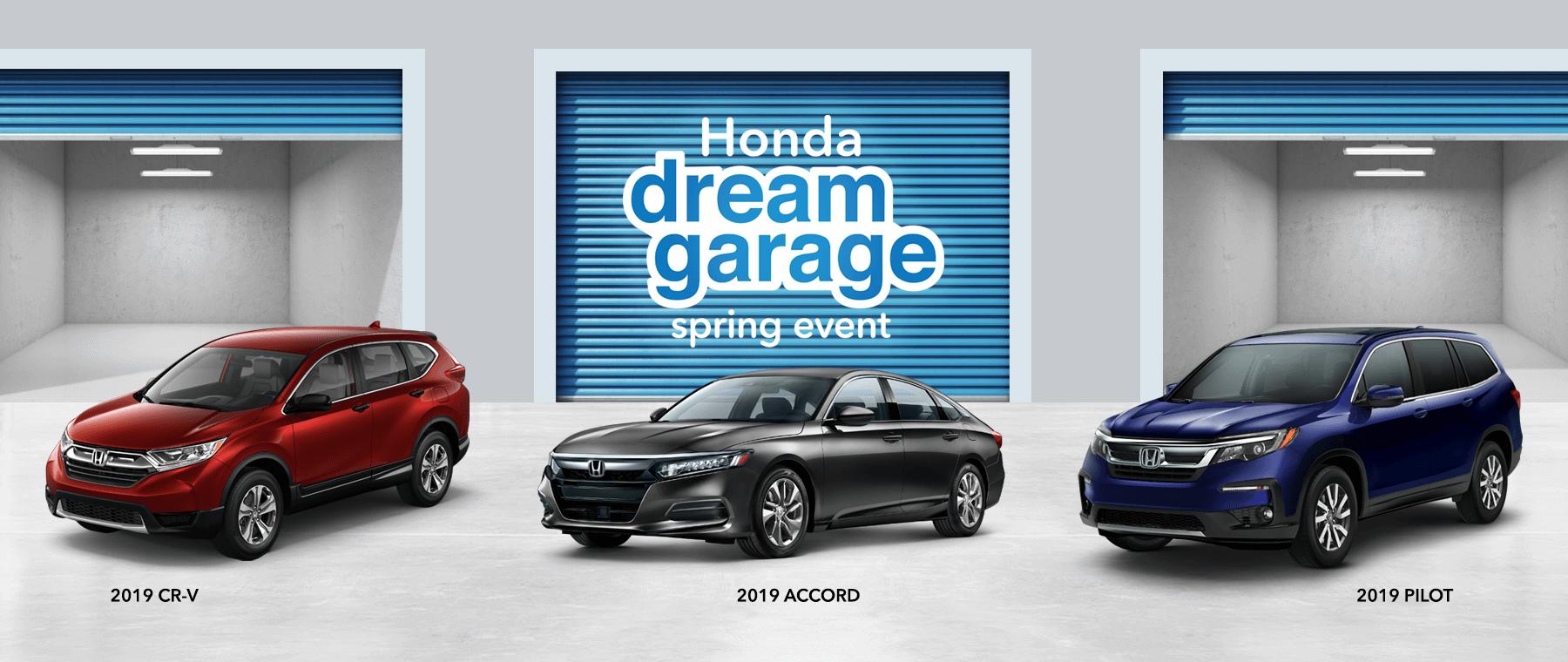 New England Honda Dealers 2019 Honda Dream Garage HP Slide