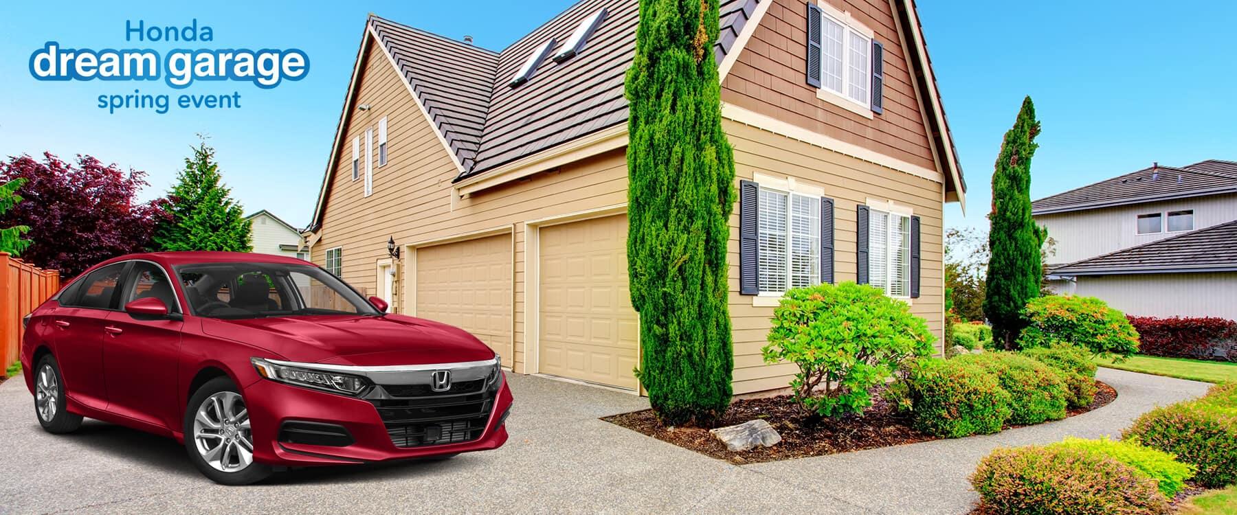 Honda Dream Garage Spring Event 2019 Accord Slider