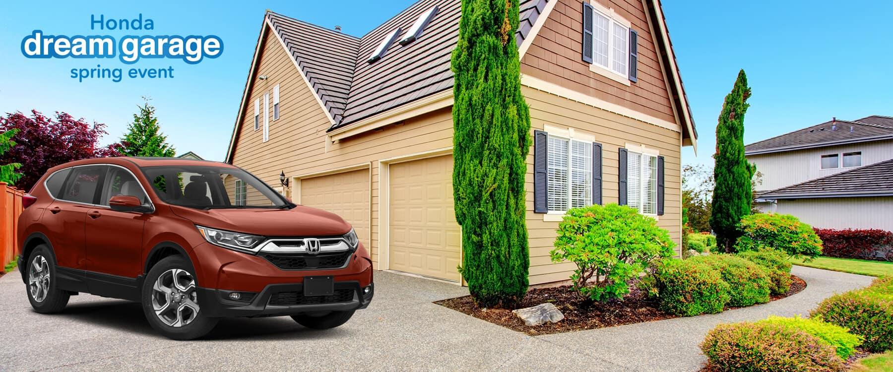 Honda Dream Garage Spring Event 2019 CR-V Slider