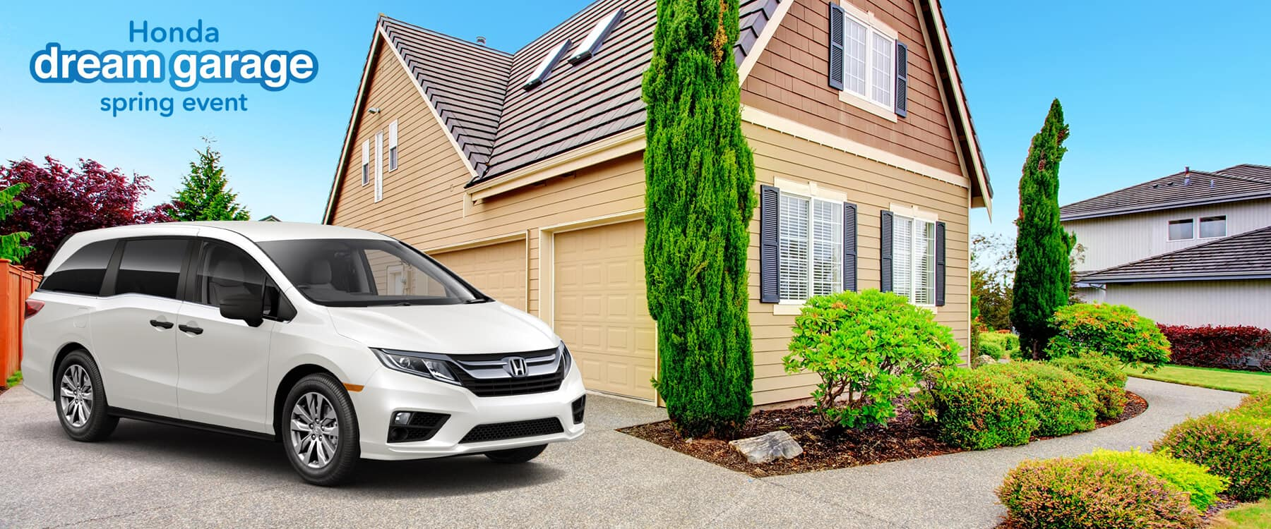 Honda Dream Garage Spring Event 2019 Odyssey Slider