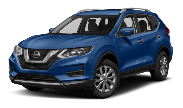 2019 Nissan Rogue Blue Exterior
