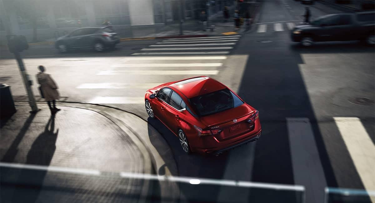 2019 Nissan Altima Rear