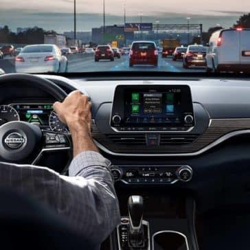 2019 Nissan Altima Dash