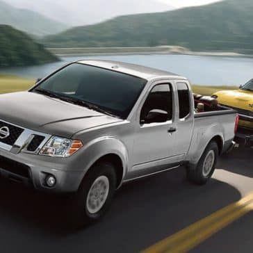 2019 Nissan Frontier Towing Trailer