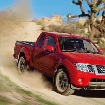 2019 Nissan Frontier On Dirt Road