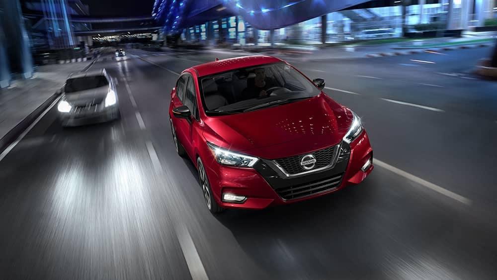 2020 Nissan Versa Driving