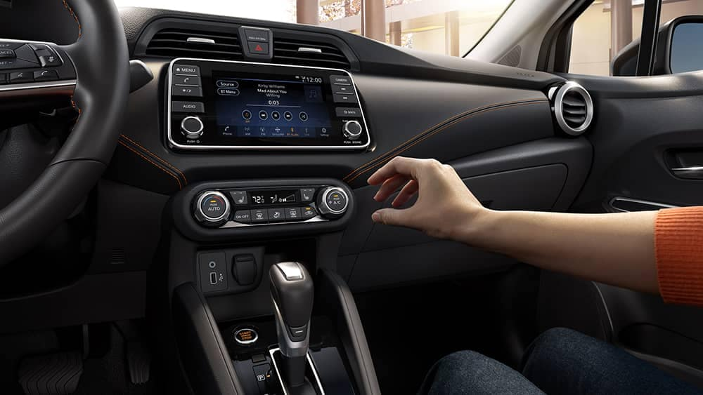 2020 Nissan Versa Technology