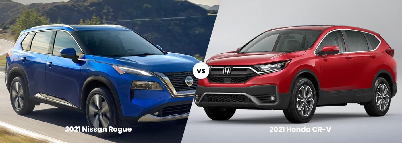 Nissan Rogue vs Honda CR-V