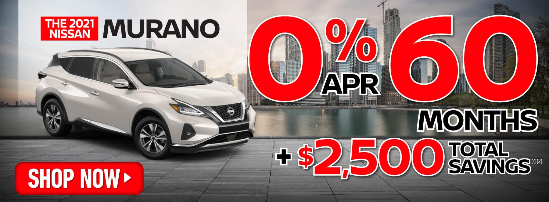 2021 Murano 0% apr for 60 months | Shop Now