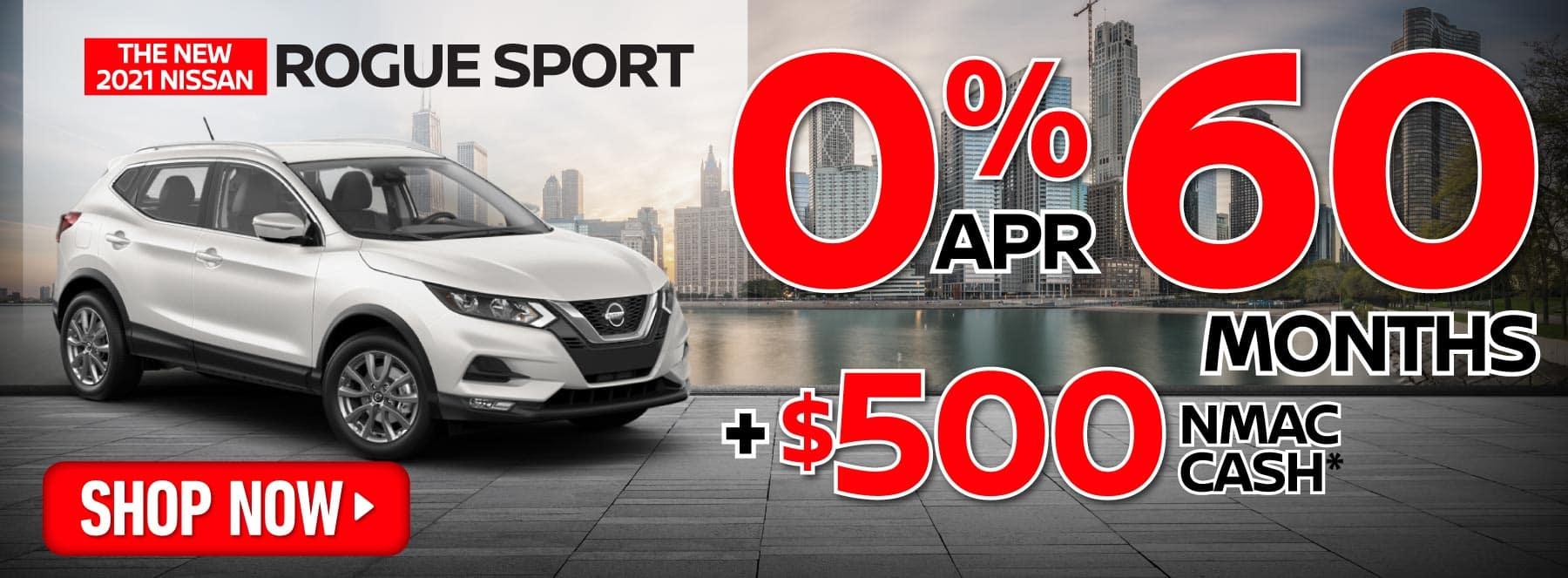 Rogue Sport 0% apr for 60 months | Shop Now