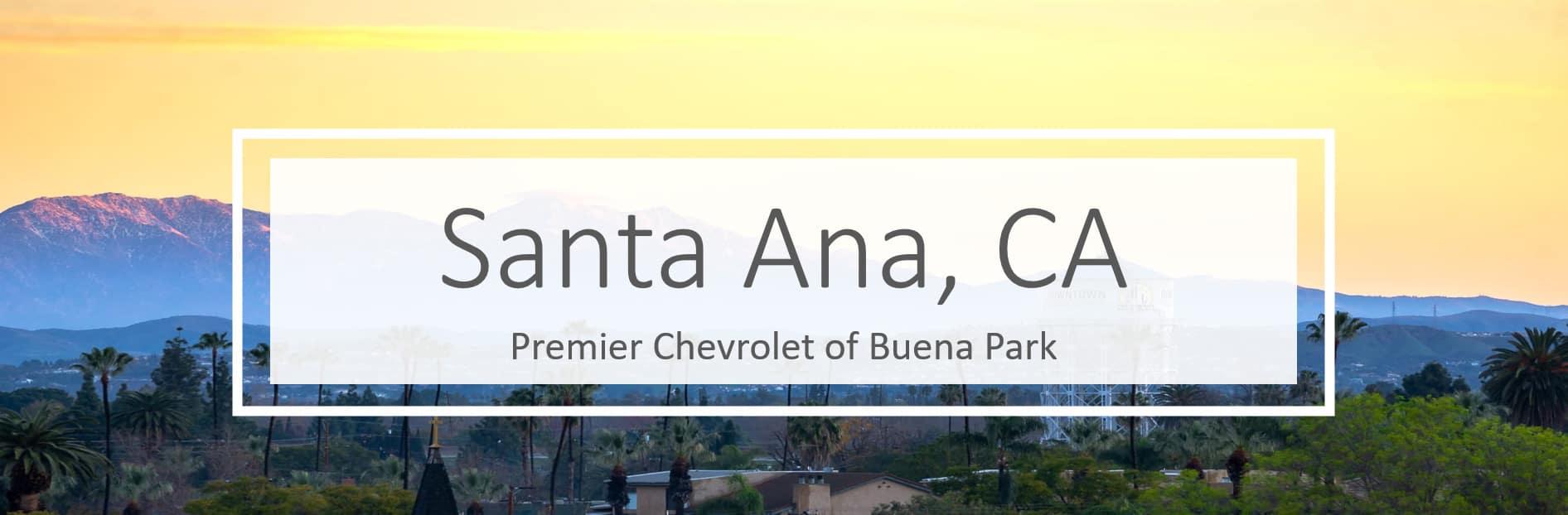 Chevy Dealer in Santa Ana