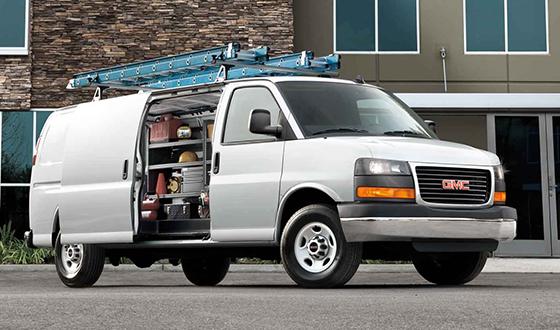 Savana Cargo Van exterior