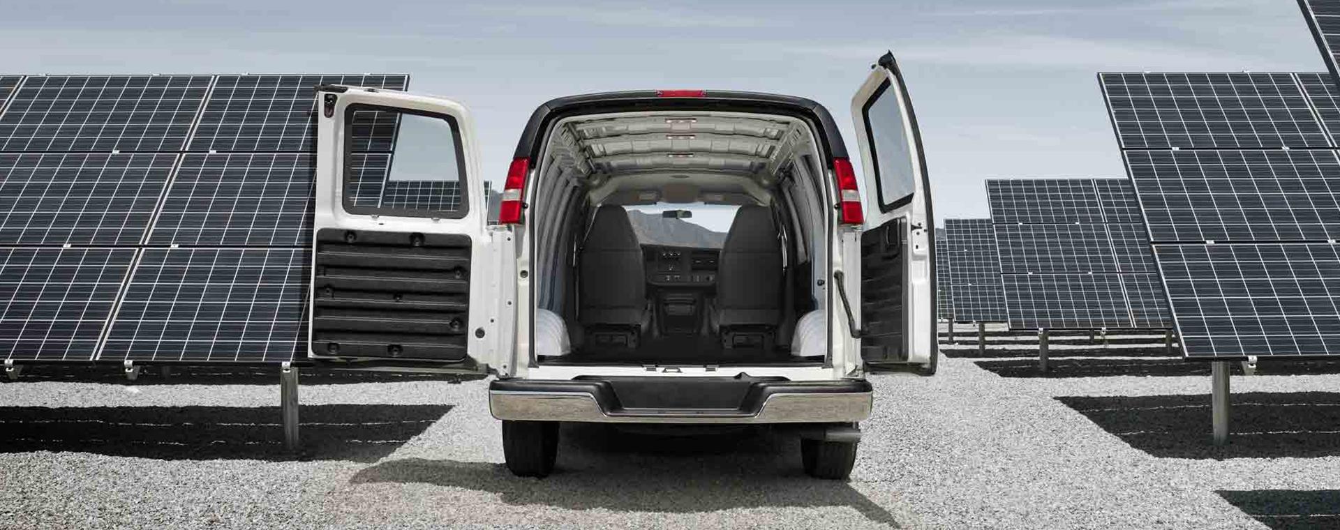 New Savana Cargo Van inventory at Quirk Buick GMC