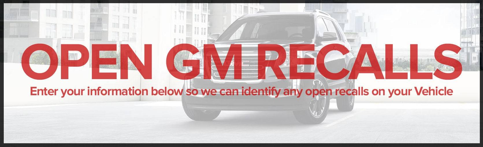 Open GM Recalls