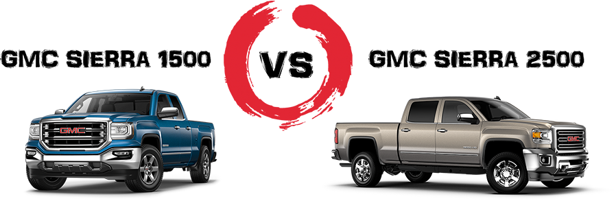 2017 GMC Sierra 1500 vs 2500