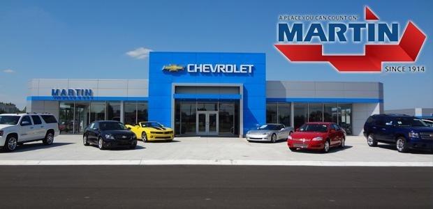 Garber Welcomes Martin Chevrolet Team