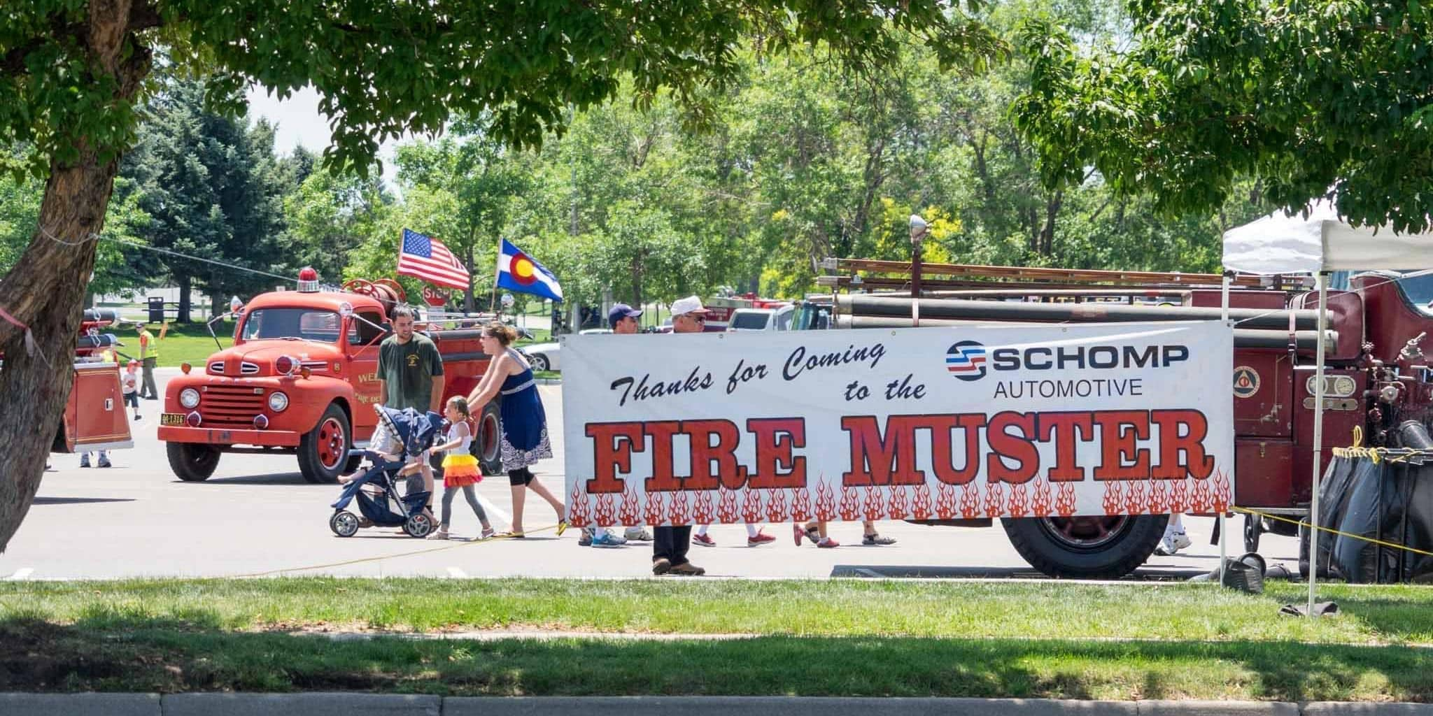 2015 marked the 30th anniversary of the fire truck parade and muster taking place in our hometown of littleton the original event in 1985 was held in the