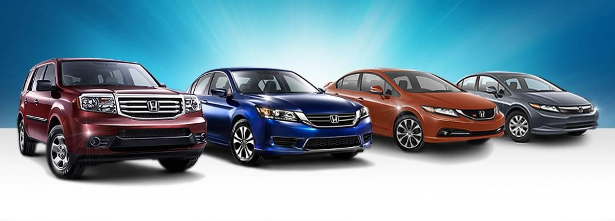 Used Honda Cars for Sale at Schomp Automotive | Used Honda Lineup Header