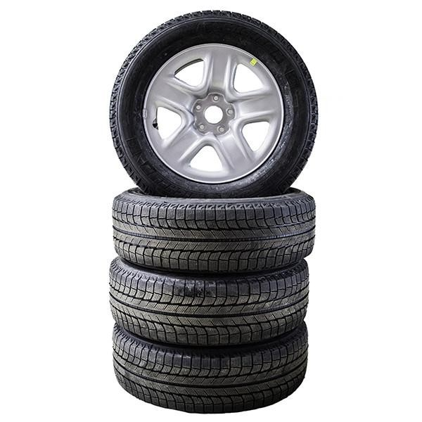 A Stack Of Winter Tires
