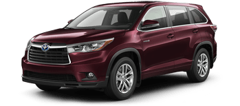 Smart Buy Event 2016 Highlander Hybrid Offer