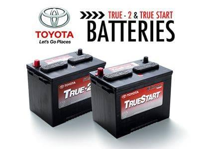 Battery service at Sherwood Park Toyota