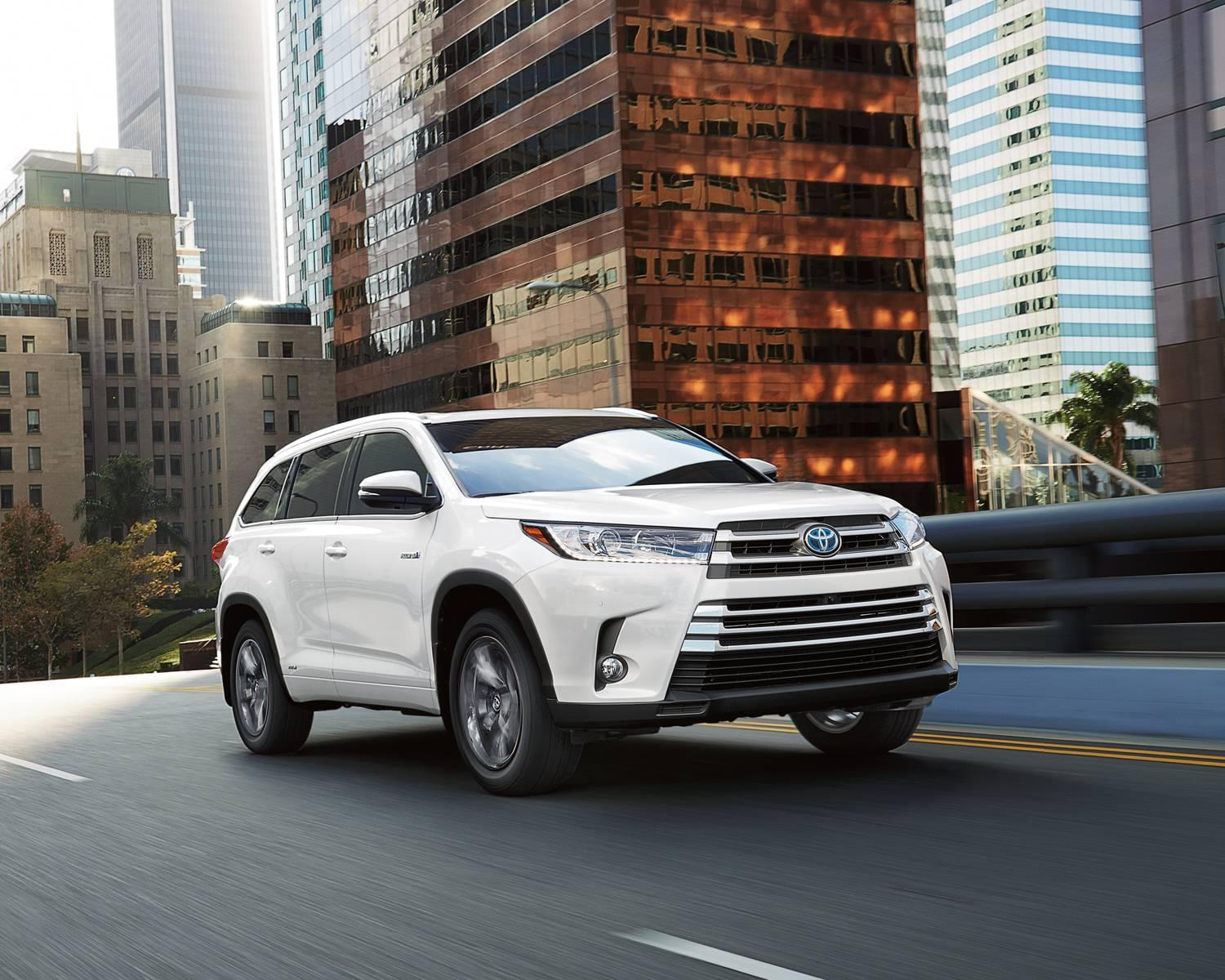 2017 Highlander Hybrid Safety
