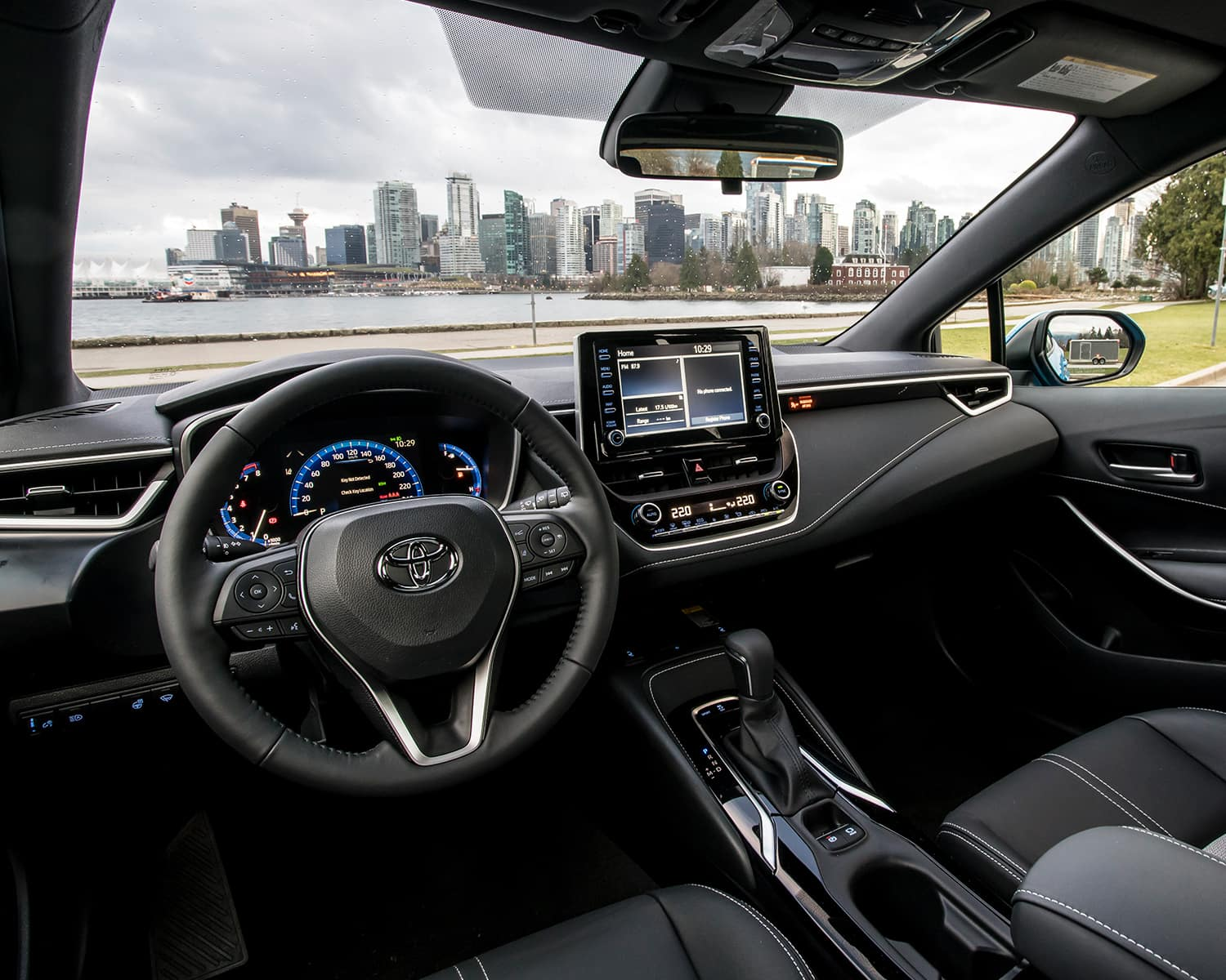 Toyota Corolla Interior >> 2019 Toyota Corolla Hatchback Overview Sherwood Park, AB