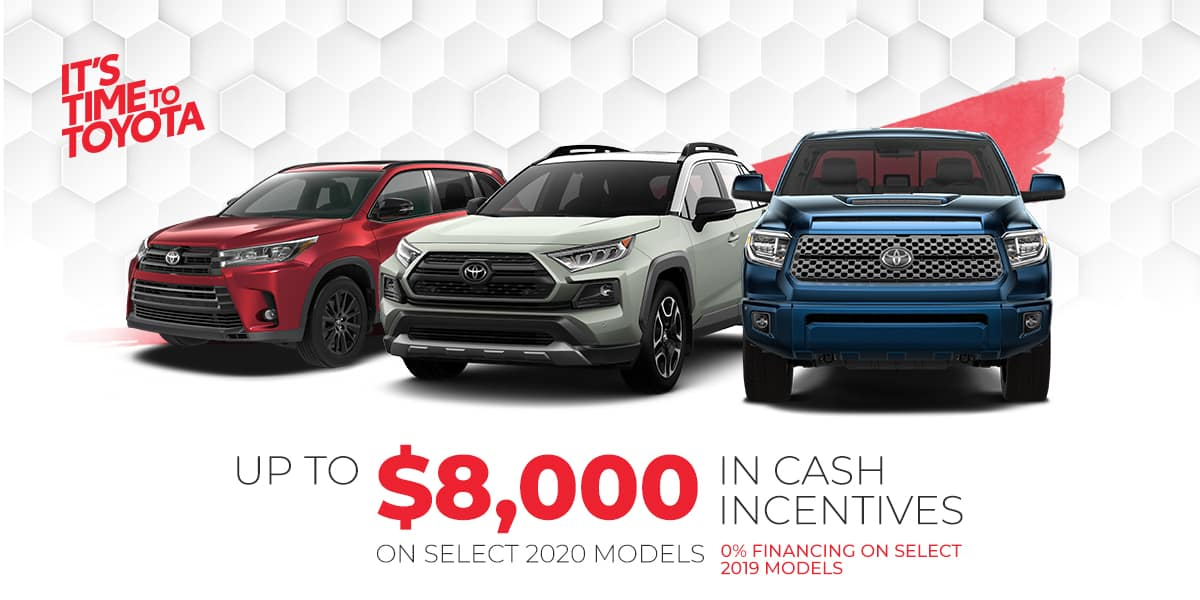 Toyota Financing Deals >> Toyota Offers And Incentives Sherwood Park Toyota In