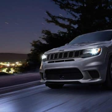 2018 Jeep Grand Cherokee Highway Night
