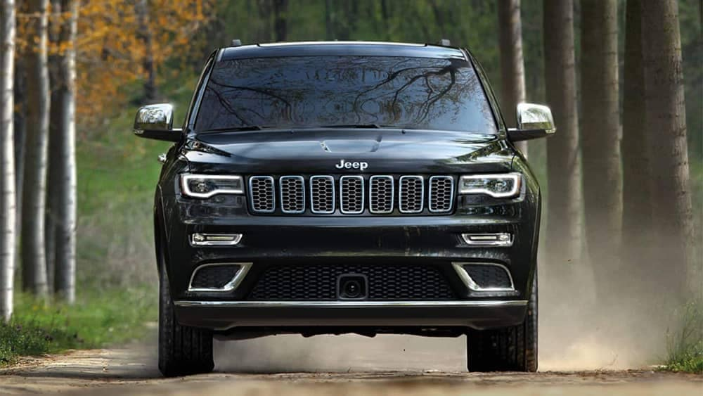 2019 Jeep Grand Cherokee in the forest