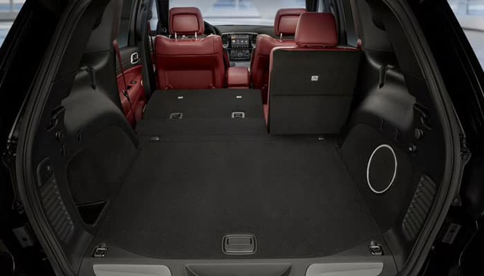 2019 Jeep Grand Cherokee Cargo Dimensions