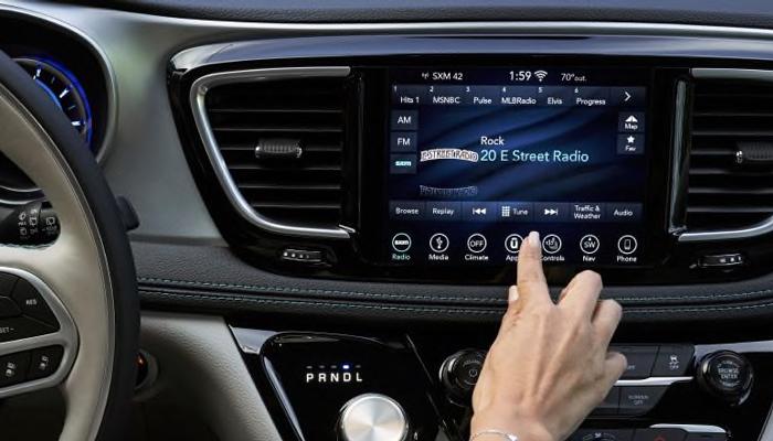 2019 Chrysler Pacifica Interior Consol