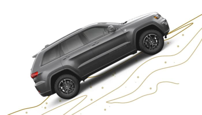 2019 Jeep Grand Cherokee Hillside Capability Illustration