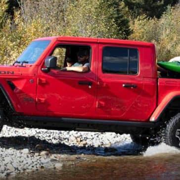 2020 Jeep Gladiator Crossing Stream