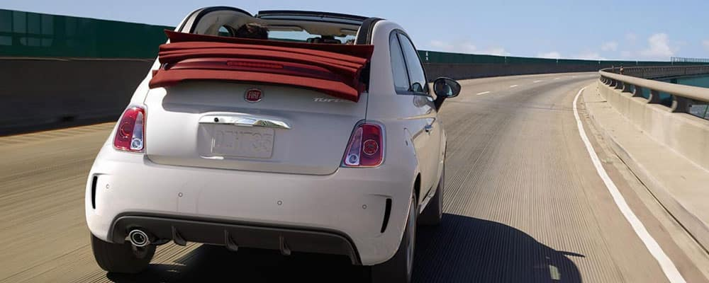 2019 Fiat 500 Driving On Road
