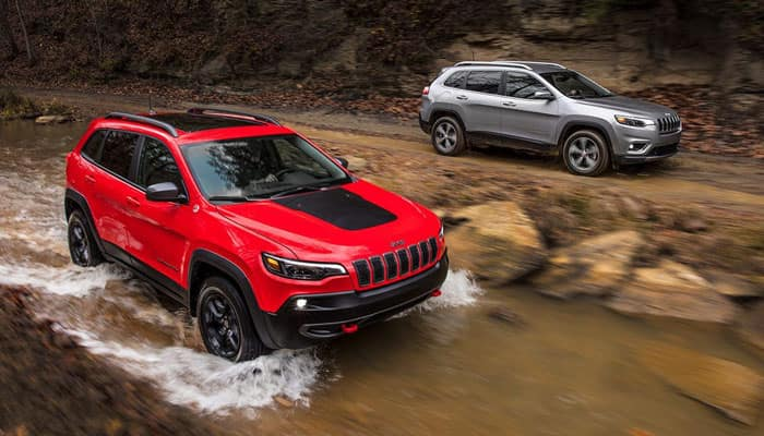 2019 Jeep Cherokee Capability Outdoors