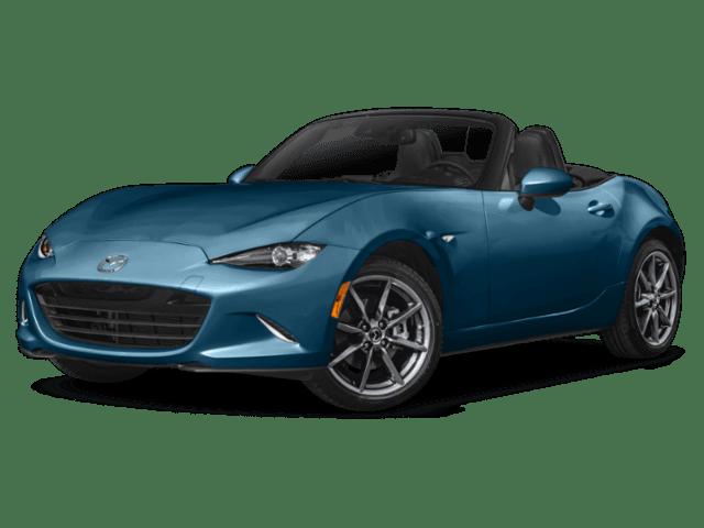 2019 Mazda Miata in blue