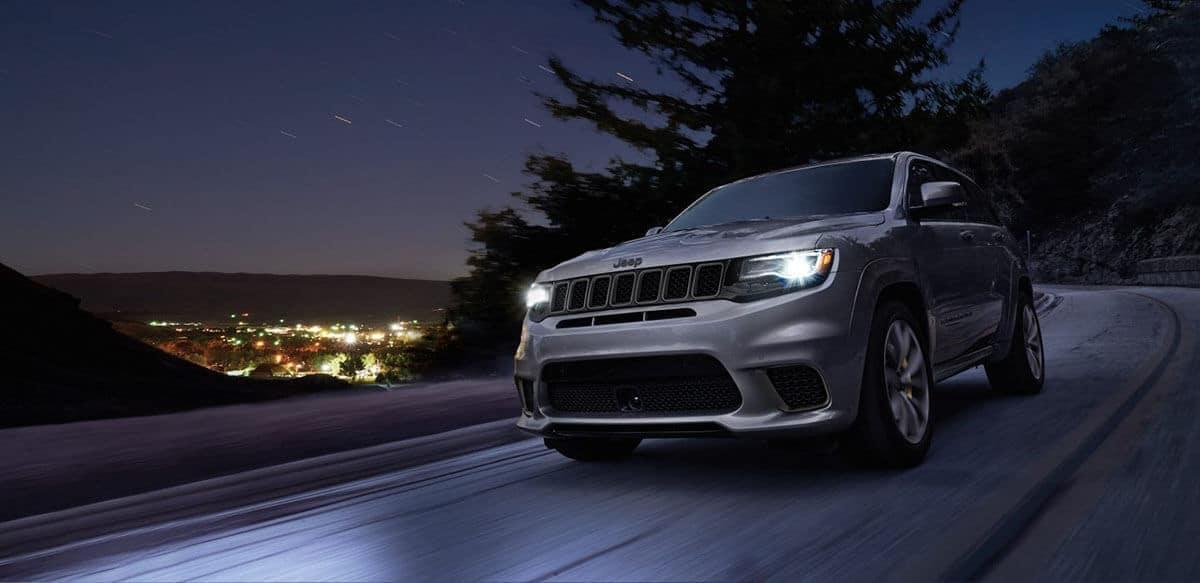 2018 Jeep Grand Cherokee Highway Night