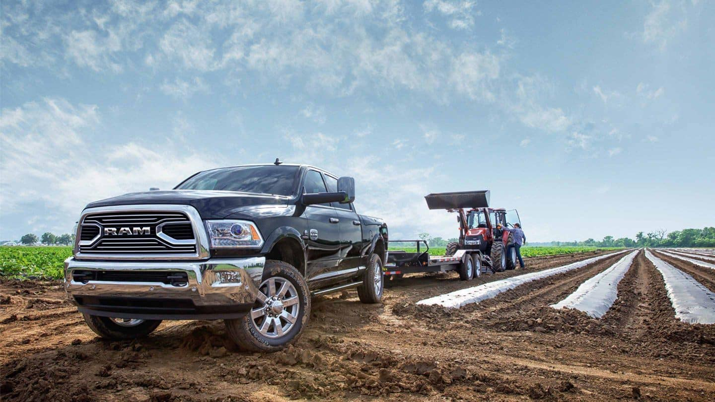 2018 Ram 2500 Towing Tractor