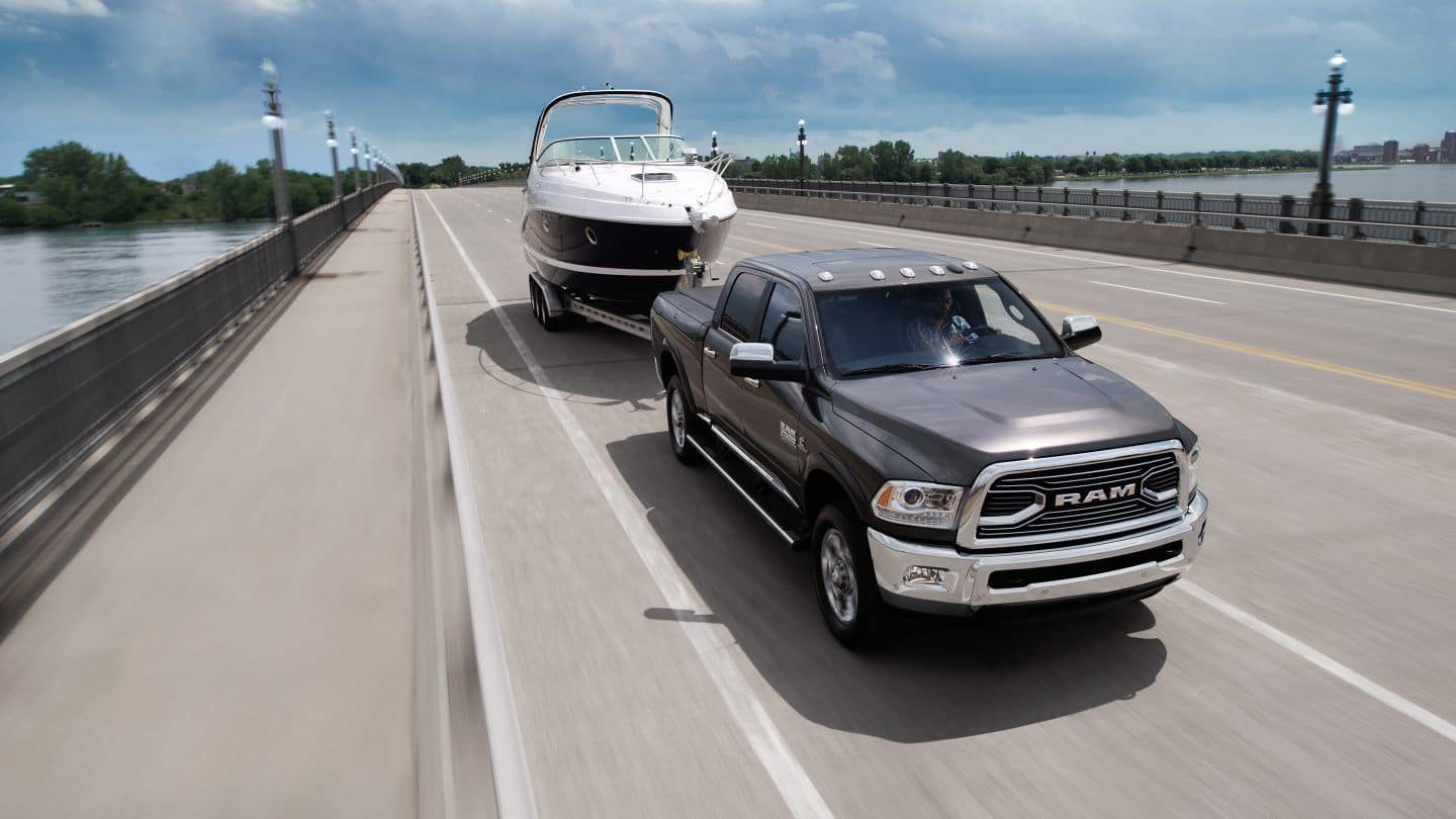 2018 Ram 2500 Towing Boat