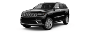 Diamond Black Crystal Pearl-Coat 2018 Jeep Grand Cherokee at an Angle