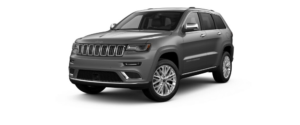 Granite Crystal Metallic Clear-Coat 2018 Jeep Grand Cherokee at an Angle