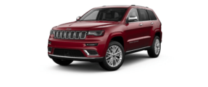 Velvet Red Pearl-Coat 2018 Jeep Grand Cherokee at an Angle